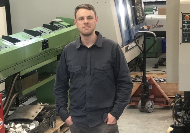 Tom Pearce in Shop