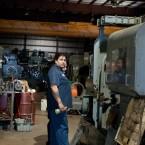 Greg the Wickman mechanic at Graff-Pinkert