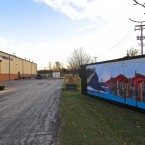 Graff-Pinkert Building With Container Mural