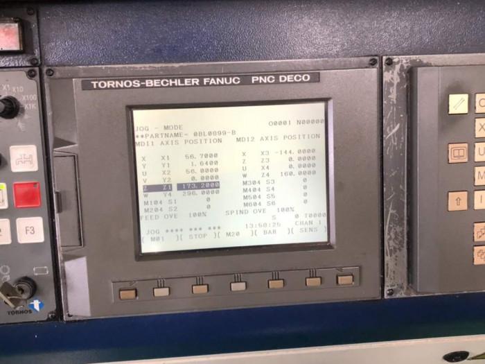 Tornos DECO 13 CNC Swiss Lathe