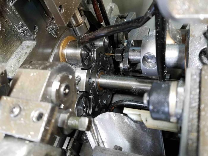 Davenport Screw Machine