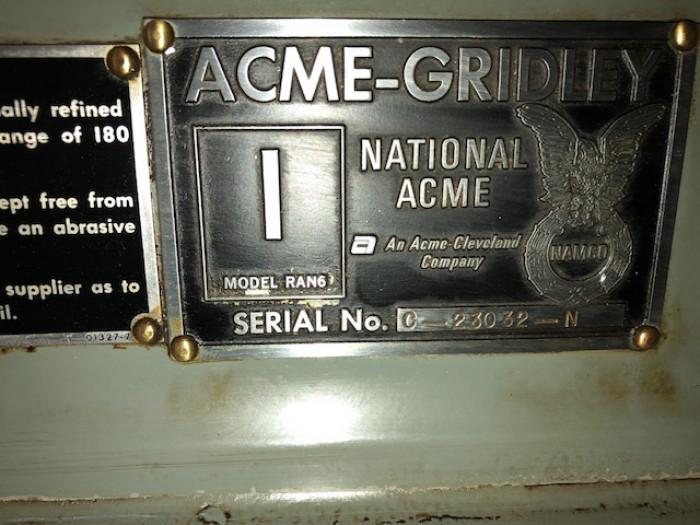 "ACME-GRIDLEY 1"" RAN-6"