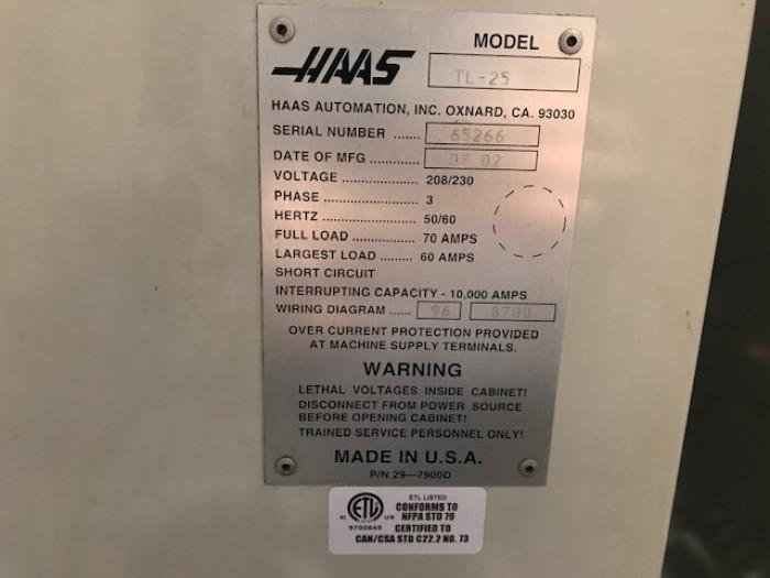 Haas TL-25