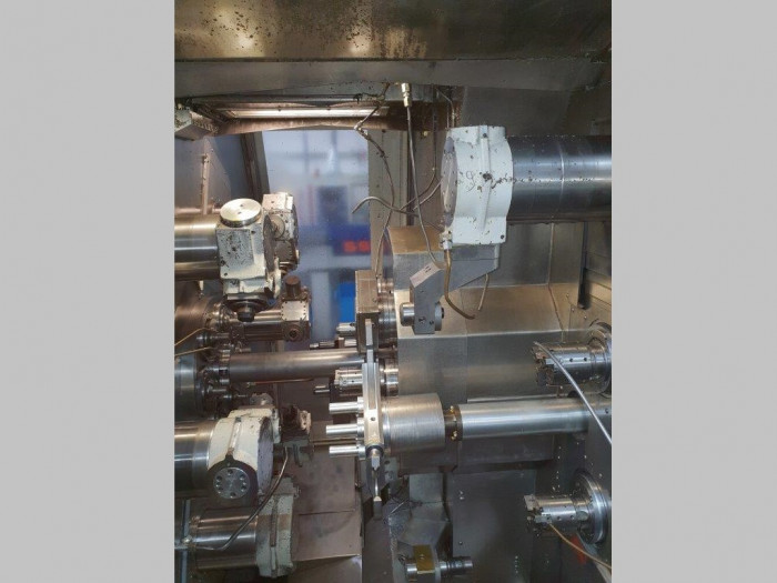 Multi-Spindle Screw Machine