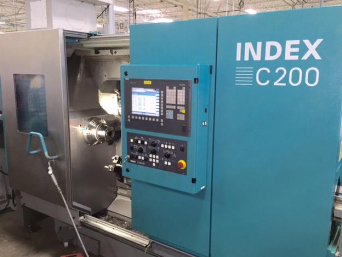 INDEX C200 CNC Lathe