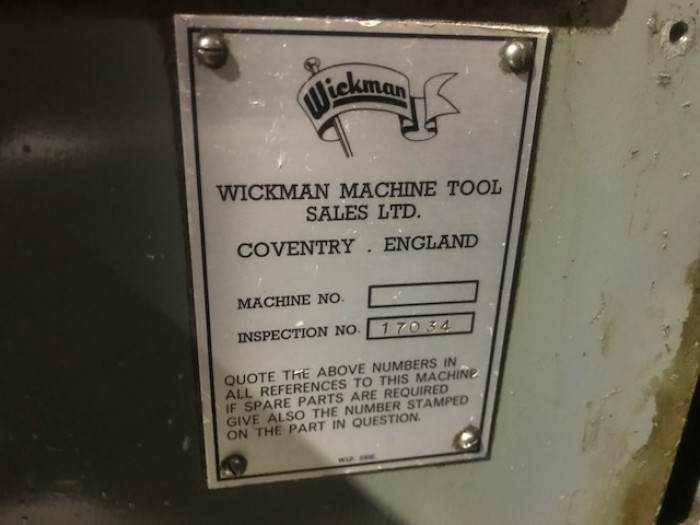 "Wickman 1"" 6-Spindle"
