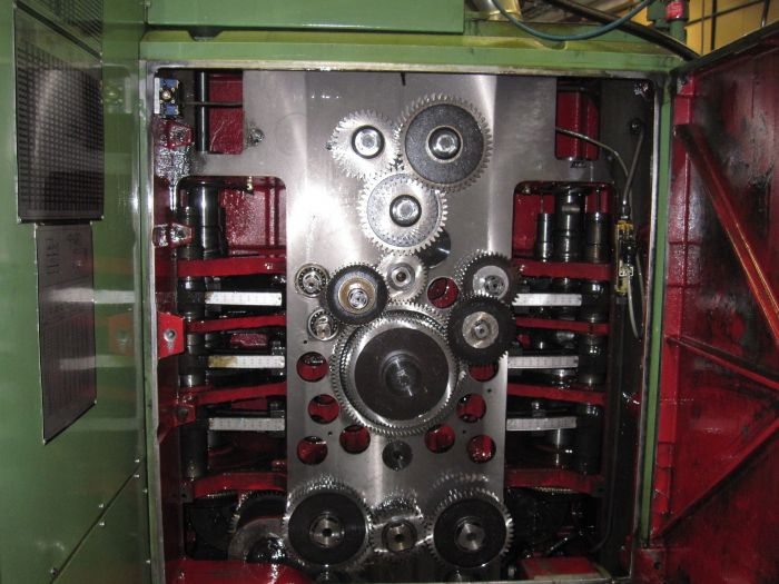 Schutte SF42 Multispindle Screw Machine