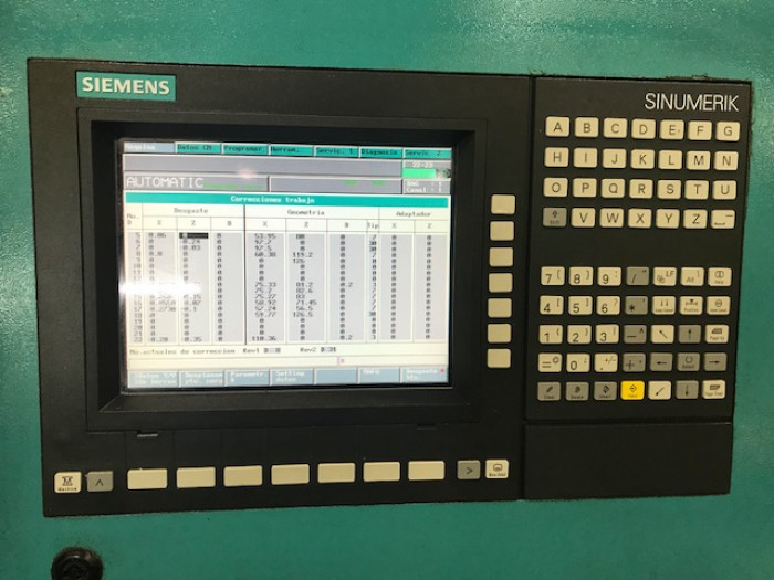INDEX ABC with Siemens Sinumerik Control