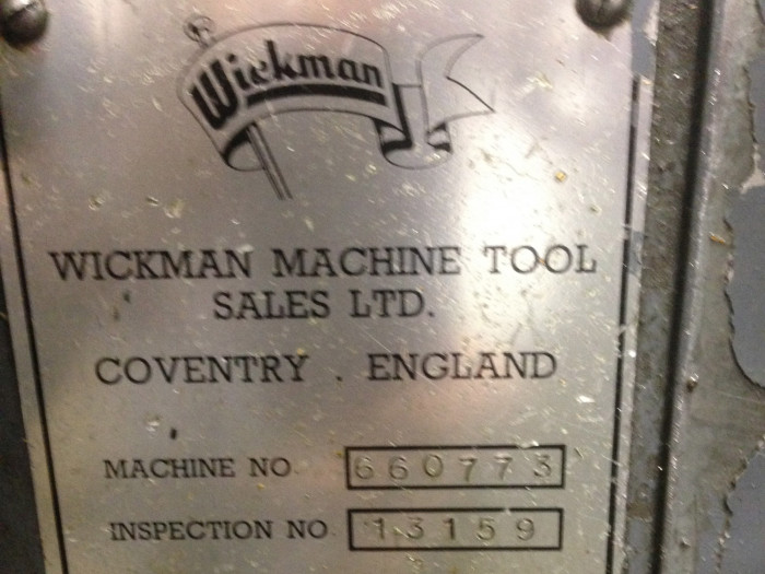"Wickman 5/8"" Screw Machine"