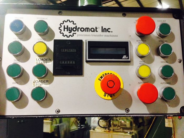 Hydromat HB45-12 Chucker Rotary Transfer Machine