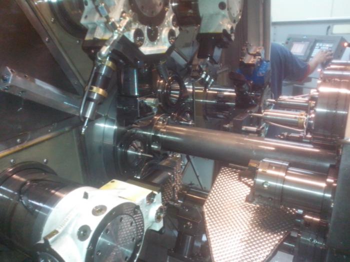 Schutte SC7-32 Multispindle Screw Machine