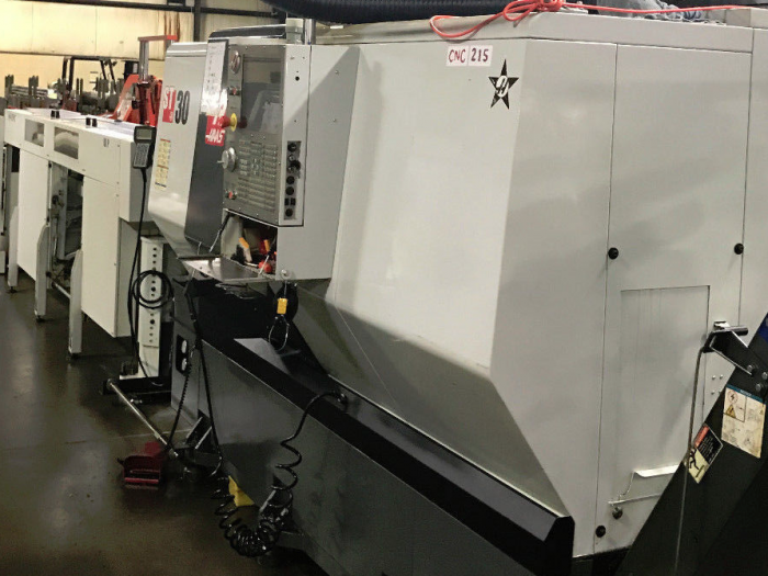 Haas ST-30 Big Bore CNC Lathe