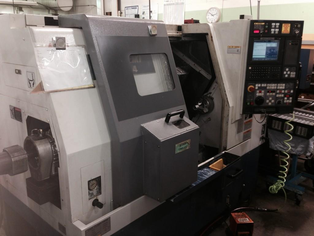 Mori Seiki SL 204 CNC Lathe | Used Screw Machines | Graff