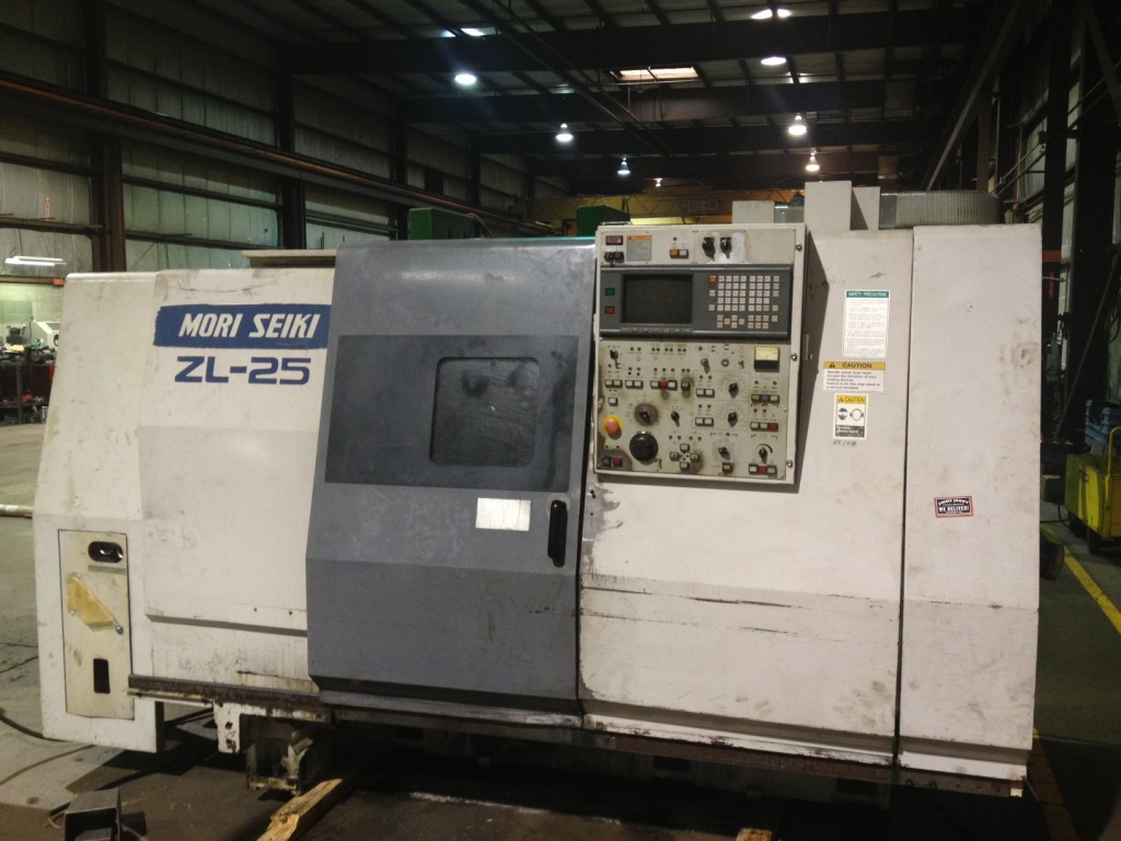 Mori Seiki ZL-25B/500 CNC Lathe (Collet Machine)   Used